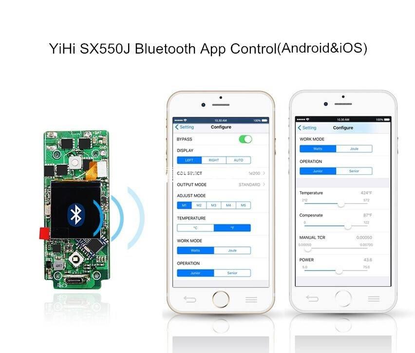 YiHi SX550J 200W TFT Bluetooth 1